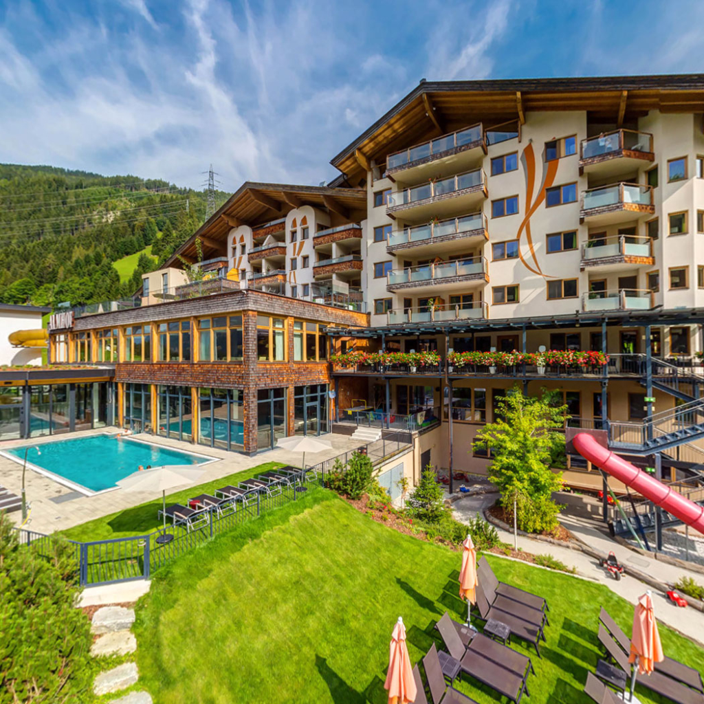 360° Grad Virtuelle Tour Hotel Almhof Familyresort & SPA